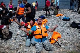refugee praising