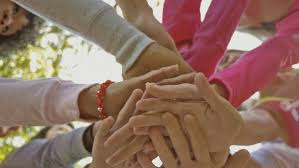 hands of support group