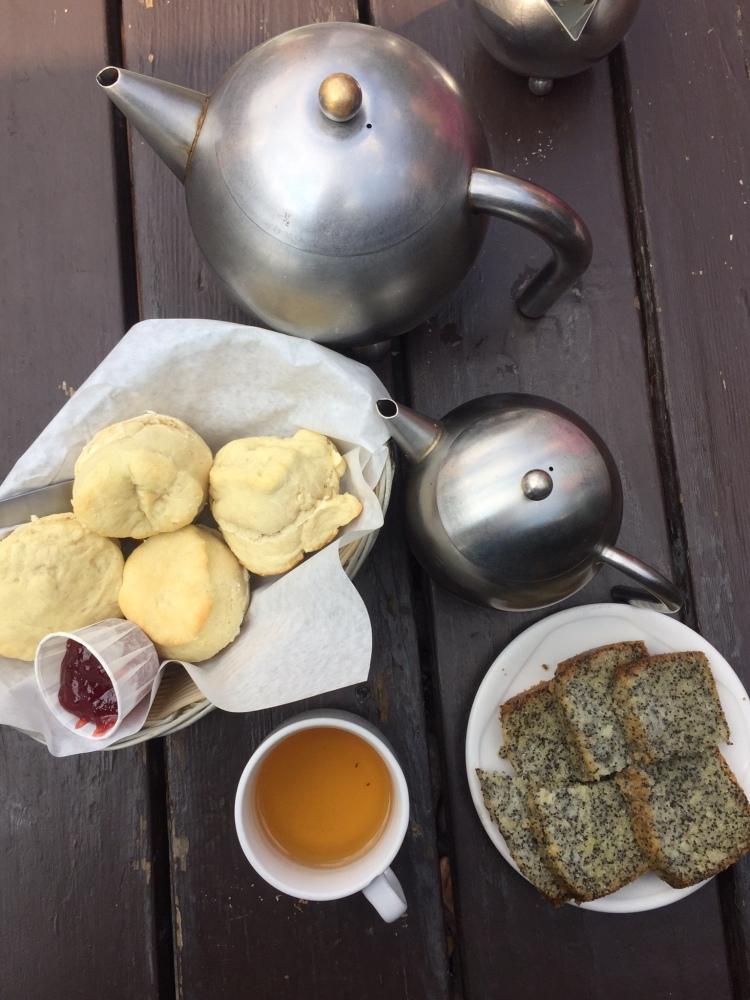 food at tea house
